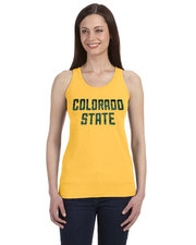 CSU Rams Ladies Yellow Tank